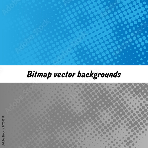 Bitmap raster vector abstract background