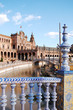 View from the deck of the Spanish Steps - Seville - Spain