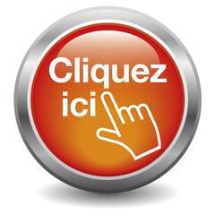 Bouton CLIQUEZ ICI rouge