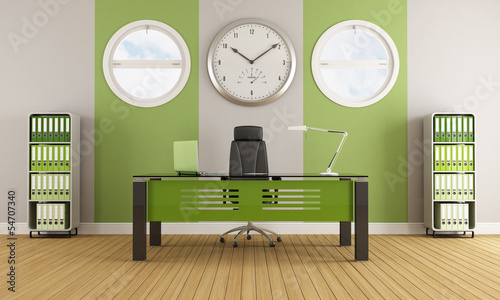 Green contemporary office