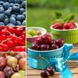 Früchte - Collage