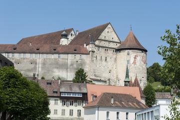 Porrentruy, Schloss und Hahnenturm, Rundturm, Jura