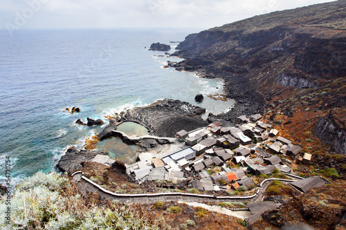 Small village on the coast