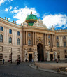 Famous Hofburg Palace in Vienna
