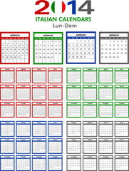 Calendar 2014 Italian.