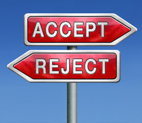 accept or refuse