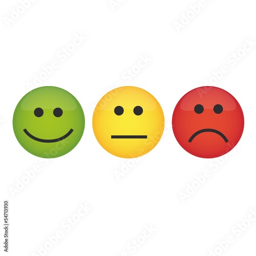 Different emoticons