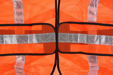 Safety Vest Front up Close