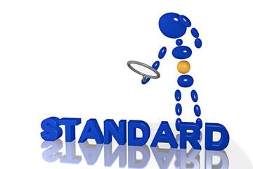 Mensch in 3D mit Lupe_Standard