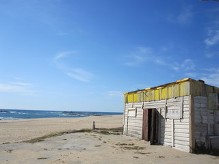 Strandhütte in Portugal (mediterranean  beach hut)