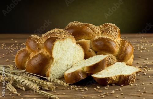 Fototapeta Słodki chleb