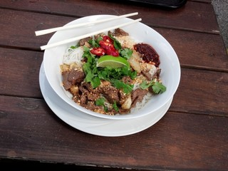 Bun Nam Bo - Typical Vietname/Thai Cuisine