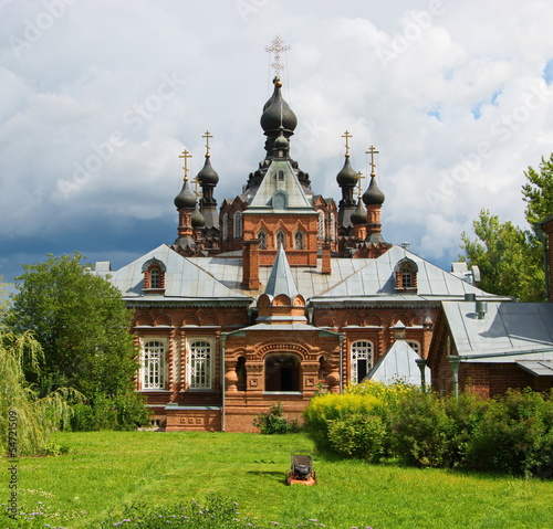 temple in honor of  Kazan Icon of  Mother of God