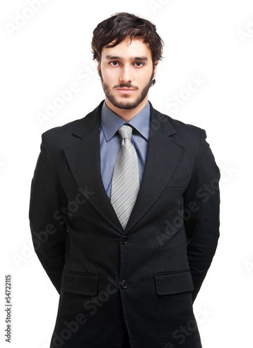 Confident businessman portrait