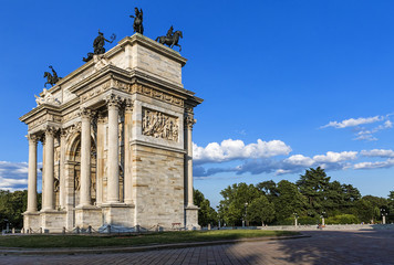 Peace Arch in Milan