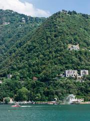 collina sul lago di Como