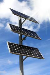Solary, panele słoneczne.