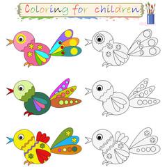 Birds  , coloring