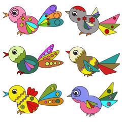 Birds, set