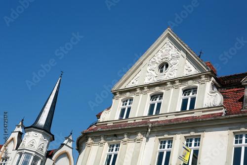 Fassadendetails in der historischen Altstadt