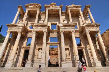 İzmir Selçuk Efes kütüphane