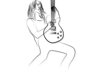 Rock + Heavy Metal Gitarrist