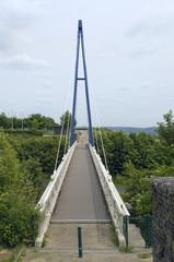 bridge near Mont Saint Michel Abbey
