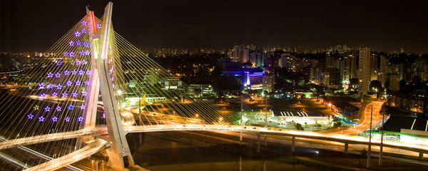 The Octavio Frias de Oliveira bridge