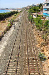 Railway in Tarragona