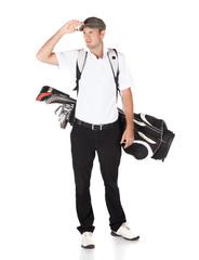 Professional golf player