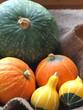 かぼちゃの盛り合わせ