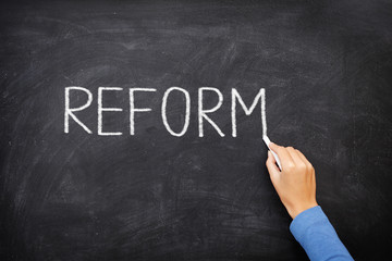 Reform blackboard - education reform