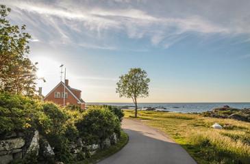 Küstenstrasse auf Bornholm