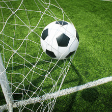 Football terrain de football stade herbe ligne balle texture de fond