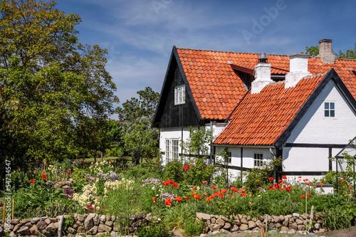 Idyllisches Fachwerkhaus auf Bornholm - 54734547