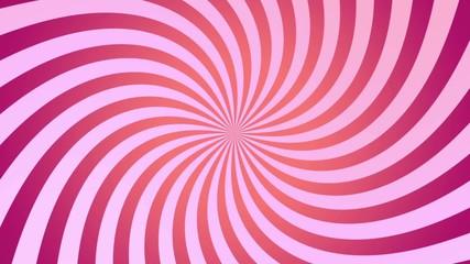Pink spiral spinning