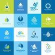 Set of icons for water - 54736742