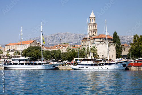 Split city in Croatia