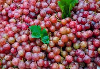 fresh ripe red grape