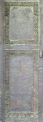 antikes griechisches Ornament Bronze