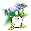 salvadanaio pannello solare