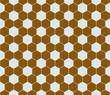 Hexagon pattern seamless.