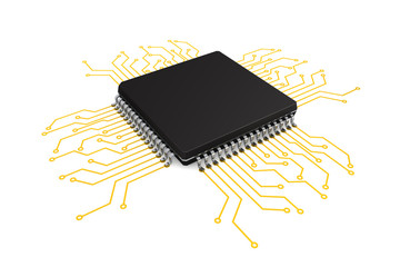 Microchip with circuit