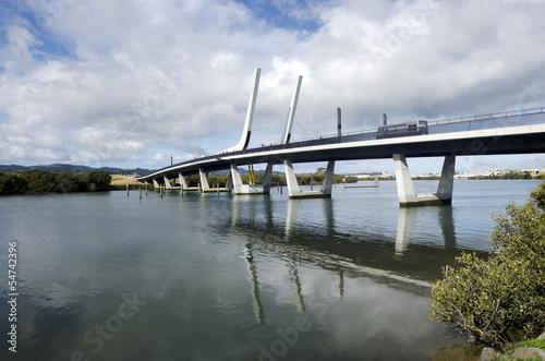 Papiers peints Pont Whangarei harbour bridge - New Zealand