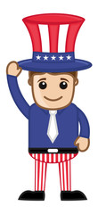 Uncle Sam Vector Character