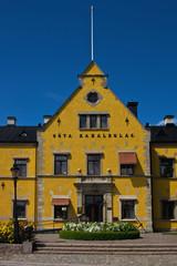 Haus am Göta Kanal in Motala