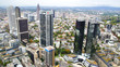 View from the Maintower in Frankfurt am Main.