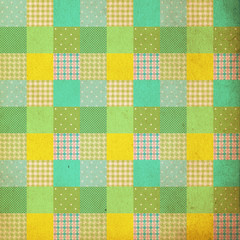vintage background, pattern, patchwork style, retro