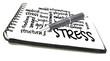 stress wordcloud
