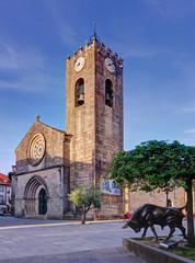 Old church Igreja Matriz in Ponte de Lima, Portugal